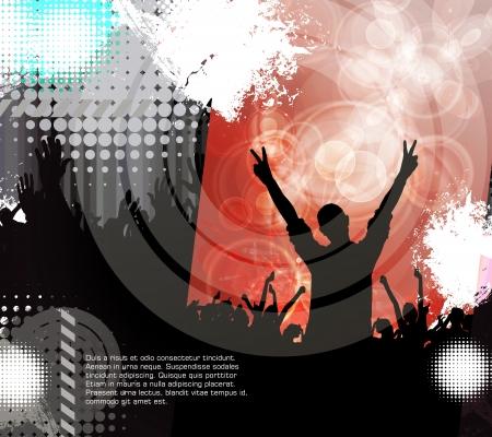 Dance party Stock Vector - 17530042