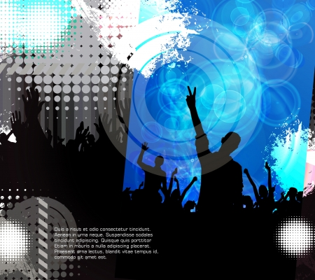 Dance party Stock Vector - 17530043
