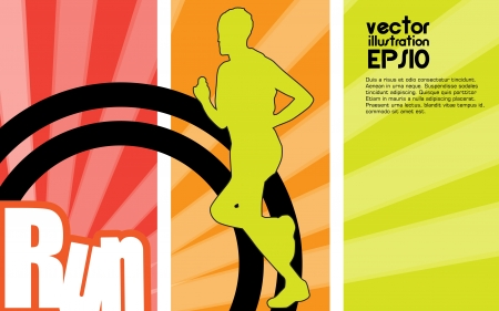 Sport illustration Stock Vector - 17530006