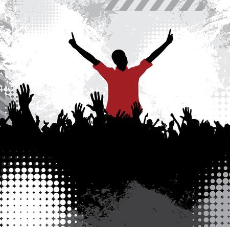 Disco event background photo