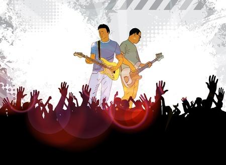 Guitar concert photo