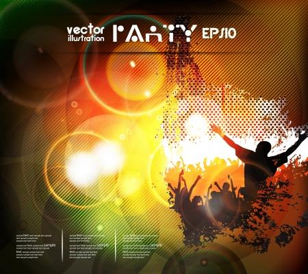 Music event background Zdjęcie Seryjne - 17925343