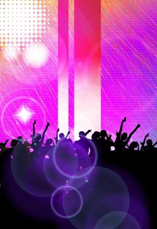 Music party illustration illustration