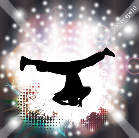 Breakdancer Vector