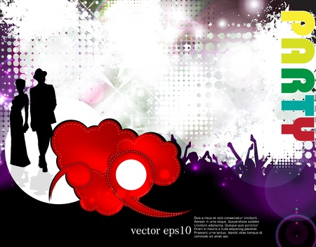 Music event background Stock Vector - 18428384