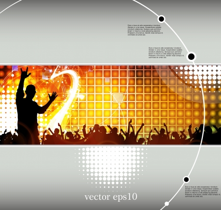 Concert poster. Vector illustration Stock Vector - 18572937