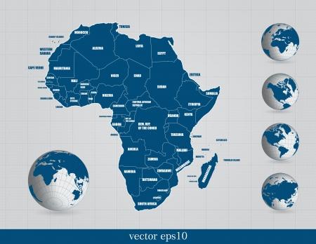 World map Stock Vector - 18913992