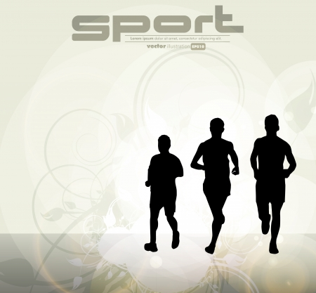 Sport vector illustration Stock Vector - 18967912