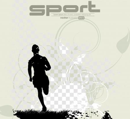 Sport vector illustration Stock Vector - 18967609