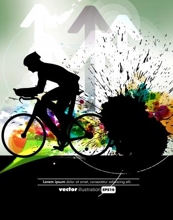 adrenalin: Sport vector illustration Illustration
