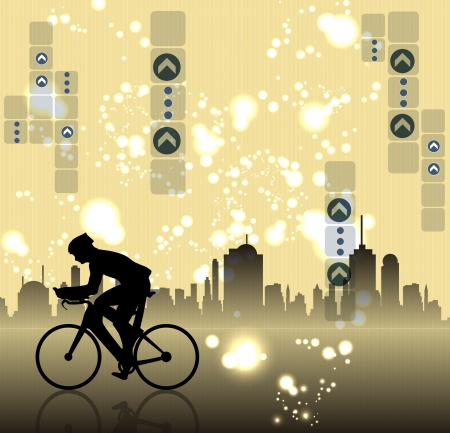 City sport Stock Vector - 19050178