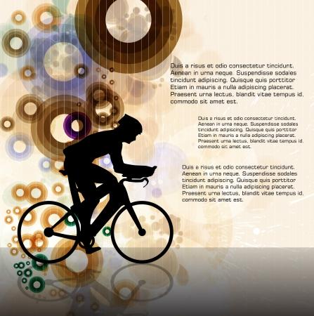 summer tires: Ilustraci�n Ciclismo