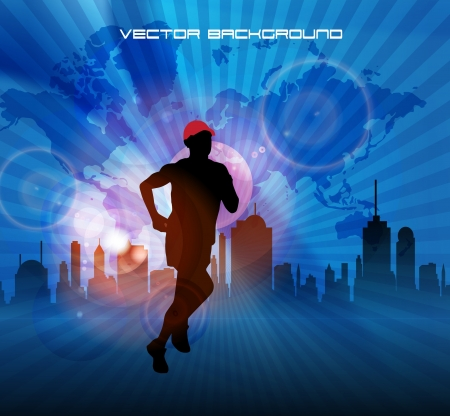 Sport. Vector illustration Stock Vector - 19354070