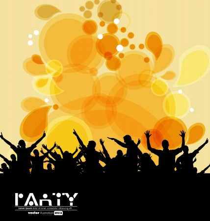 Disco event background  Stock Vector - 19354089