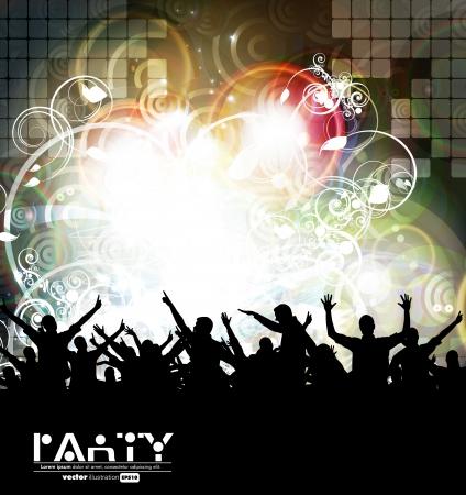 boate: Fundo evento Disco