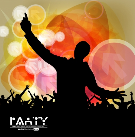 Concert. Vector illustration Stock Vector - 19441696