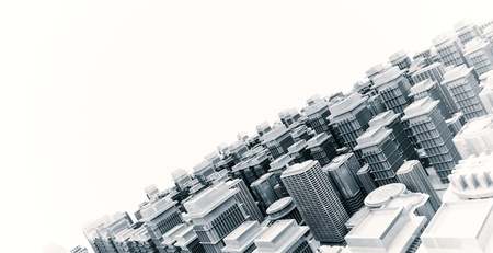 3d city model Stock Photo - 20045117