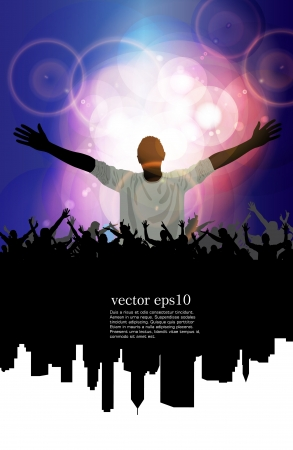 Concert  Vector illustration  Vector