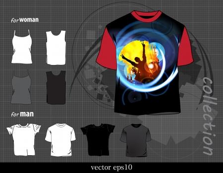 t square: t-shirt design  Vector Illustration