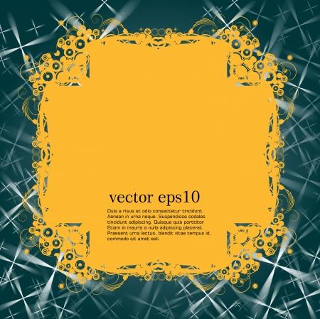 Vintage frame  vector  Stock Vector - 21911064