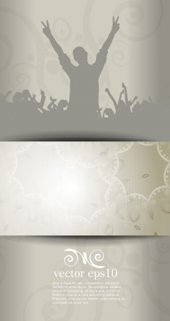 Concert illustration  Vector illustration Vector