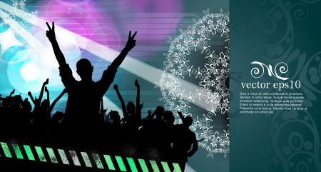 Concert illustration  Vector illustration Vector