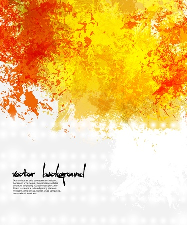 Abstract artistic Background of bright colors  Vettoriali