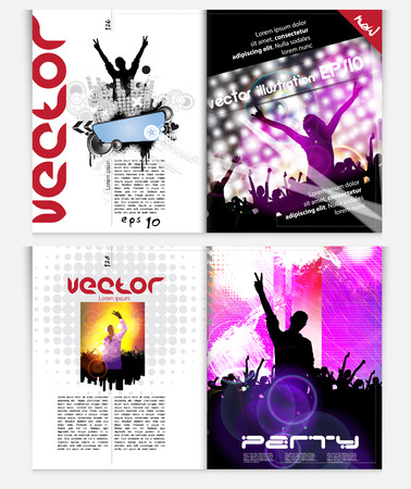 Modern Brochure Template - EPS10 Vector Design Vector