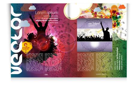Modern Brochure Template - EPS10 Vector Design Stock Vector - 22583638