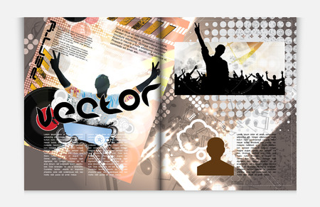 Modern Brochure Template  Stock Vector - 22708881