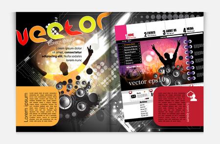 Modern Brochure Template  Stock Vector - 22708882