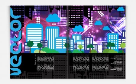 Modern Brochure Template Stock Vector - 22708886