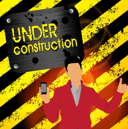 Man using smartphone  Vector Stock Vector - 22835328