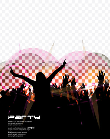 Party background  Vector Stock Vector - 23351763