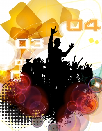 Urban party concept  Vector Stock Vector - 23351837