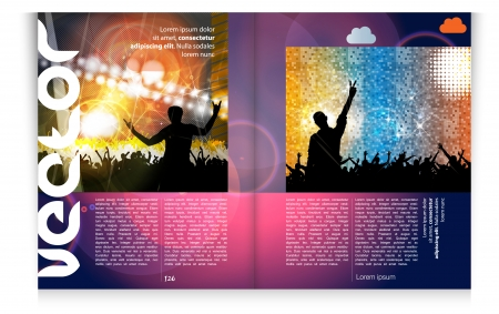 Modern Brochure Template - EPS10 Vector Design Stock Vector - 24385198