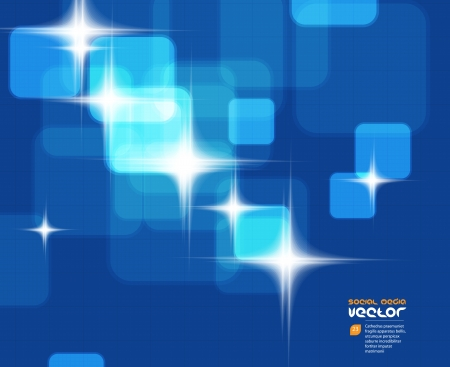 virtual technology: Virtual Technology Vector Background Illustration