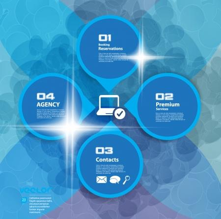 tecnologia virtual: Virtual Fondo de la tecnolog�a Vector