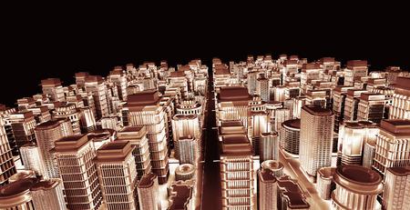 3d city  photo