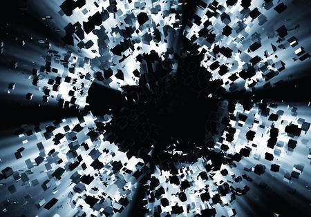 Explosion background Stock Photo - 27405599