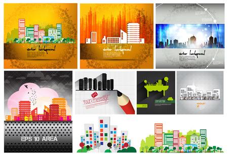headquarter: Cityscape set
