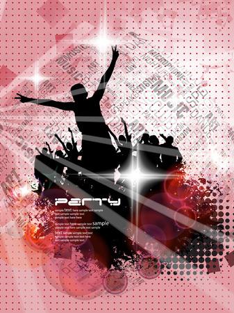 clubing: Clubbing  illustration  Illustration