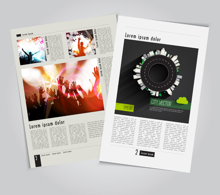 Modern Brochure Template Vector Stock Vector - 29314249