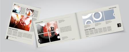 Modern Brochure Template Vector Stock Vector - 29314251