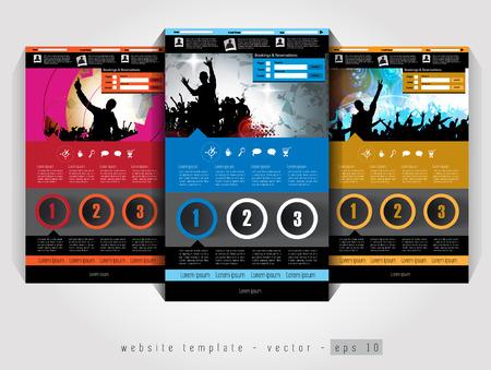 web site: Elegant web site design template
