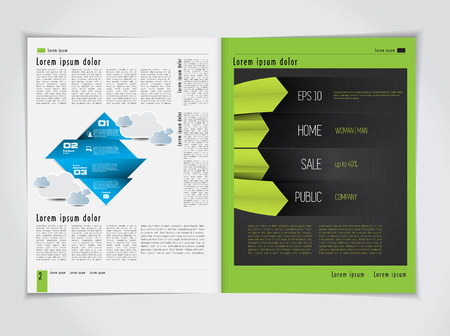 layout design template: Brochure Layout Design Template