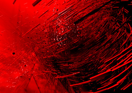 Red explosion background photo