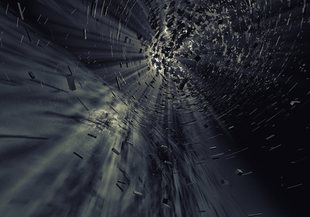 3d explosion background photo