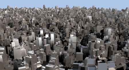terraced: 3d future city