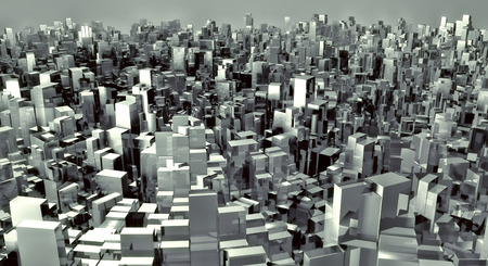 terraced: 3d future city